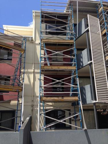 Aluminium Scaffold Narrow Access