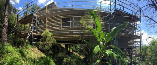 Aluminium Scaffold Sloped Block and Curved