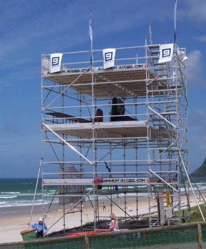 Aluminium Scaffold Viewing Platform