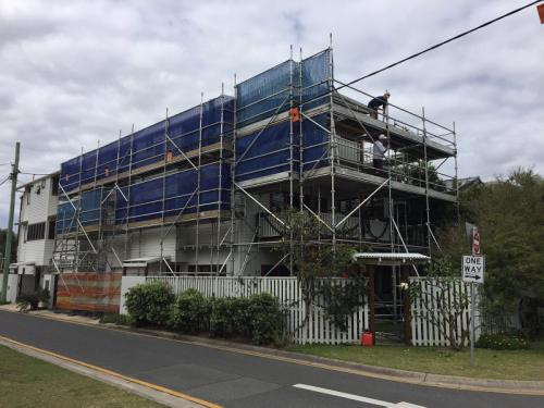 Aluminium Scaffold Wrap Around